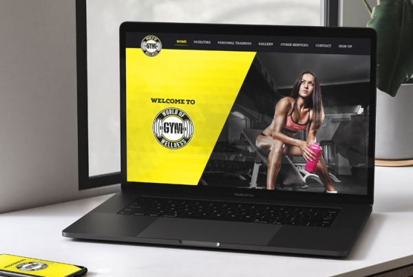 Wow Gym Website